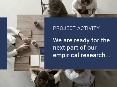 We are ready for the next part of our empirical research …