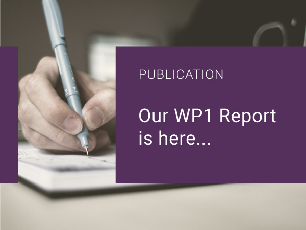 Our WP1 Report is here…