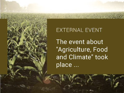 """Read more about the article The event about """"Agriculture, Food and Climate"""" took place…"""
